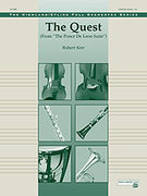 Cover icon of The Quest sheet music for full orchestra (full score) by Robert Kerr