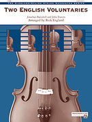 Cover icon of Two English Voluntaries (COMPLETE) sheet music for string orchestra by Jonathan Battishill, John Travers and Rick England, classical score, easy/intermediate