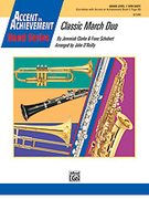 Cover icon of Classic March Duo sheet music for concert band (full score) by Jeremiah Clarke, Franz Schubert and John O'Reilly