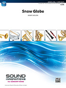Cover icon of Snow Globe sheet music for concert band (full score) by Robert Sheldon