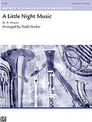 Cover icon of A Little Night Music sheet music for concert band (full score) by Wolfgang Amadeus Mozart