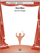 Cover icon of Star-Rise sheet music for concert band (full score) by Jeanne Vultaggio, beginner