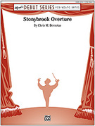 Cover icon of Stonybrook Overture sheet music for concert band (full score) by Chris M. Bernotas, beginner