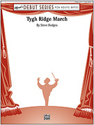 Cover icon of Tygh Ridge March sheet music for concert band (full score) by Steve Hodges