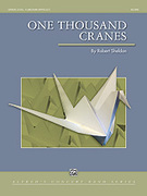 Cover icon of One Thousand Cranes sheet music for concert band (full score) by Robert Sheldon