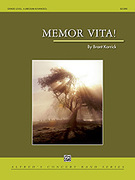 Cover icon of Memor Vita! sheet music for concert band (full score) by Brant Karrick, intermediate