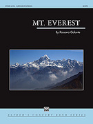 Cover icon of Mt. Everest sheet music for concert band (full score) by Rossano Galante