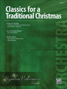 Cover icon of Classics for a Traditional Christmas, Level 2 sheet music for string orchestra (full score) by Anonymous, easy skill level