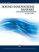 Cover icon of Sound Innovations Fanfare sheet music for concert band (full score) by Robert Sheldon