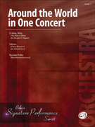 Cover icon of Around the World in One Concert sheet music for string orchestra (full score) by Elena Roussanova Lucas, Douglas E. Wagner and Michael Story