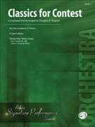 Cover icon of Classics for Contest sheet music for string orchestra (full score) by Anonymous and Richard Meyer