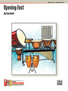 Cover icon of OPENING FAST/PERC ENS sheet music for percussions (full score) by Paul Smith, easy skill level