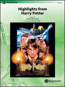 Cover icon of Harry Potter, Highlights from sheet music for concert band (full score) by John Williams and Michael Story