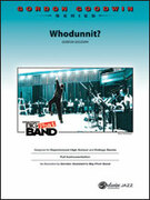 Cover icon of Whodunnit? sheet music for jazz band (full score) by Gordon Goodwin