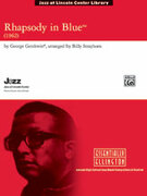 Cover icon of Rhapsody in Blue sheet music for jazz band (full score) by George Gershwin and Paul Cook