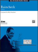 Cover icon of Raincheck (COMPLETE) sheet music for jazz band by Billy Strayhorn, intermediate