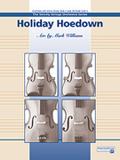 Cover icon of Holiday Hoedown (COMPLETE) sheet music for string orchestra by Anonymous and Mark Williams, beginner