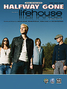 Cover icon of Halfway Gone sheet music for piano, voice or other instruments by Jason Wade and Lifehouse, easy/intermediate