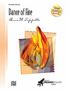 Cover icon of Dance of Fire [Intermediate] (arranged by Bruce W. Tippette) sheet music for piano solo by Bruce W. Tippette