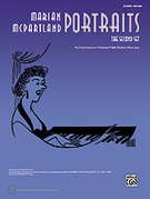 Cover icon of A Portrait of Burt Bacharach sheet music for piano solo by Marian McPartland