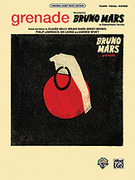 Cover icon of Grenade (acoustic live version) Grenade (live/acoustic version) sheet music for guitar solo (authentic tablature) by Bruno Mars