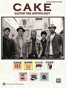 Cover icon of Bound Away sheet music for guitar solo (authentic tablature) by John McCrea, Cake, Vincent Difiore and Greg Brown, easy/intermediate guitar (authentic tablature)