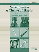 Cover icon of Variations on a Theme of Haydn sheet music for full orchestra (full score) by Johannes Brahms and Vernon Leidig