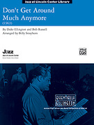 Cover icon of Don't Get Around Much Anymore sheet music for jazz band (full score) by Duke Ellington and Ralph Ford