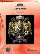 Cover icon of Lion's Pride sheet music for concert band (full score) by Jason Hayes