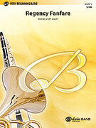 Cover icon of Regency Fanfare sheet music for concert band (full score) by Michael Story