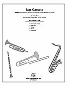 Cover icon of Jazz Cantate (COMPLETE) sheet music for Choral Pax by Andy Beck
