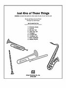 Cover icon of Just One of Those Things sheet music for Choral Pax (full score) by Cole Porter and Mark Hayes, easy/intermediate skill level