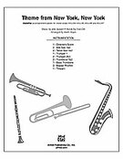 Cover icon of Theme from New York, New York (COMPLETE) sheet music for Choral Pax by John Kander, Fred Ebb and Mark Hayes, easy/intermediate