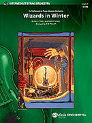 Cover icon of Wizards in Winter sheet music for string orchestra (full score) by Paul O'Neill and Trans-Siberian Orchestra, easy/intermediate skill level