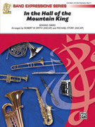 Cover icon of In the Hall of the Mountain King sheet music for concert band (full score) by Edward Grieg, classical score, easy