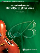 Cover icon of Introduction and Royal March of the Lions sheet music for full orchestra (full score) by Camille Saint-Saens