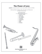Cover icon of The Power of Love sheet music for Choral Pax (full score) by Johnny Colla, Chris Hayes, Huey Lewis and Kirby Shaw, wedding score, easy/intermediate
