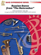 Cover icon of Russian Dance from The Nutcracker sheet music for concert band (full score) by Pyotr Ilyich Tchaikovsky