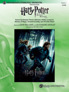 Cover icon of Harry Potter and the Deathly Hallows, Part 1, Selections from (COMPLETE) sheet music for full orchestra by Anonymous and Michael Story, easy/intermediate orchestra