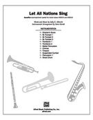 Cover icon of Let All Nations Sing (COMPLETE) sheet music for band or orchestra by Sally K. Albrecht