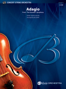 Cover icon of Adagio (COMPLETE) sheet music for string orchestra by Franz Joseph Haydn