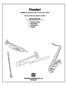 Cover icon of Thunder! (COMPLETE) sheet music for Choral Pax by Sally K. Albrecht