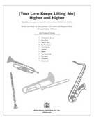 Cover icon of (Your Love Keeps Lifting Me) Higher and Higher sheet music for Choral Pax (full score) by Gary Jackson