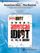 Cover icon of American Idiot -- The Musical, Selections from sheet music for string orchestra (full score) by Green Day