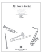 Cover icon of All I Need Is the Girl (COMPLETE) sheet music for Choral Pax by Jule Styne, Stephen Sondheim and Larry Shackley, easy/intermediate