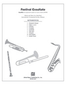 Cover icon of Festival Exsultate (COMPLETE) sheet music for Choral Pax by Andy Beck, easy/intermediate Choral Pax