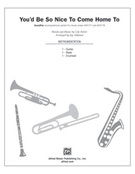 Cover icon of You'd Be So Nice to Come Home To (COMPLETE) sheet music for Choral Pax by Cole Porter and Jay Althouse, wedding score, easy/intermediate
