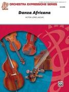 Cover icon of Danza Africana sheet music for string orchestra (full score) by Victor Lopez and Victor Lopez