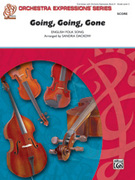 Cover icon of Going, Going, Gone (COMPLETE) sheet music for string orchestra by Anonymous and Sandra Dackow