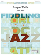Cover icon of Leap of Faith (COMPLETE) sheet music for string orchestra by Randy Sabien